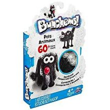 Spin Master Bunchems - Set creativ 3D Animale de companie, 60 piese