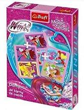 Trefl Carti de joc Domino - Winx