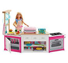 Barbie Papusa Barbie si bucatarie