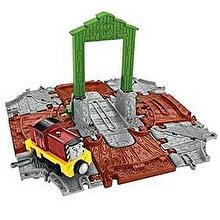 Fisher Price Thomas & Friends - Set trenulet Adventures Salty la Docuri