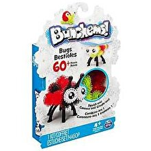Spin Master Bunchems - Set creativ 3D Insecte, 60 piese