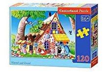 Castorland Puzzle Hansel si Gretel, 120 piese
