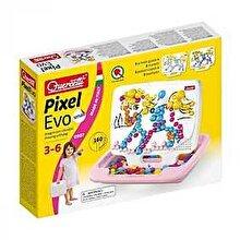 Quercetti Queretti Pixel Evo Small - Joc mozaic pentru fetite, 160 piese