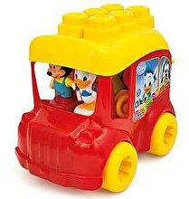 Clementoni Baby Clemmy - Autobuz Mickey, 10 cuburi