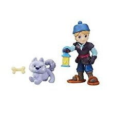 Disney Frozen - Mini papusa Kristoff, cu un prieten simpatic