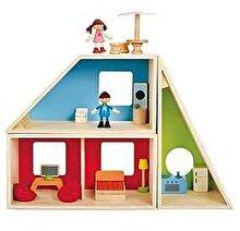 Hape Casa de papusi din forme geometrice