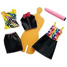 Barbie Set de joaca Barbie Crayola creion roz