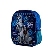 Disney Ghiozdan scoala 3D - Frozen Snow Bros, 32x27x11 cm