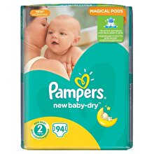 Pampers Scutece Pampers New Baby-dry nr.2,3-6kg , 94bucati