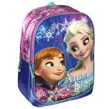 Disney Ghiozdan scoala Disney Frozen Elsa si Anna, 31x42x13 cm
