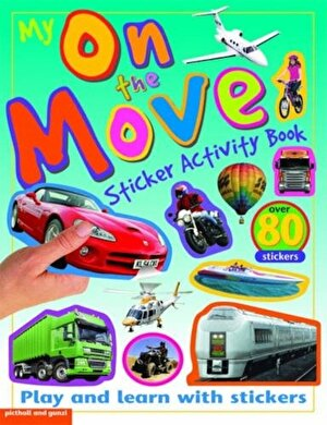 My Sticker Activity Books On the Move