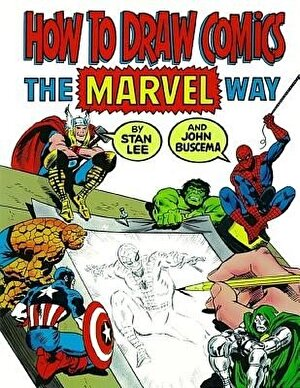 How to Draw Comics the Marvel Way, Paperback