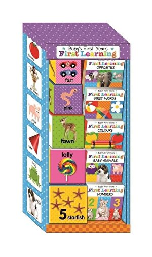 Baby's First Years First Learning Board Books Box Set