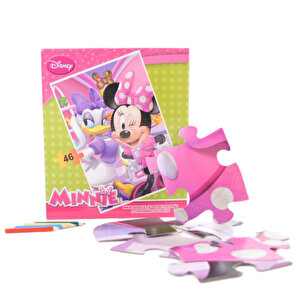 Puzzle maxi Minnie, 46 piese