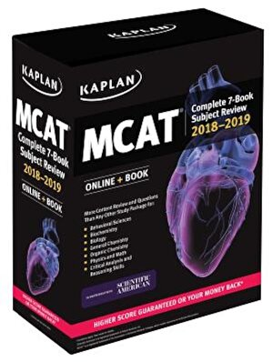 MCAT Complete 7-Book Subject Review 2018-2019: Online + Book, Paperback