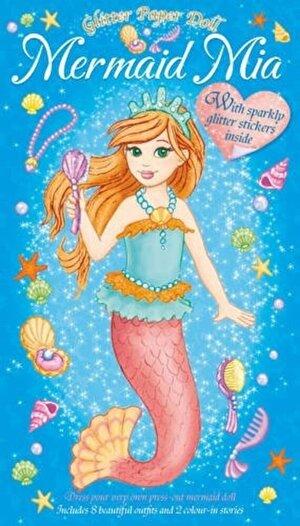 Glitter Paper Dolls: Mermaid Mia