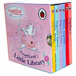 Angelina Ballerina Pocket Library 6 Board Books