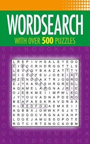Wordsearch: With Over 500 Puzzles, Paperback