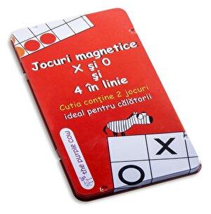 Joc magnetic - X si 0 si 4 in linie