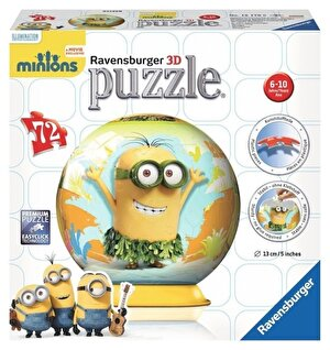 Puzzle 3D - Minions, 72 piese