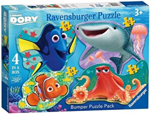 Puzzle 4 in 1 - Finding Dory, 52 piese