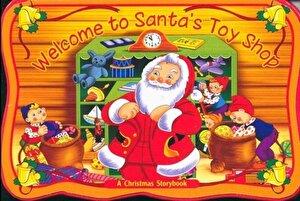 Santa's Toy Shop - A Christmas Storybook