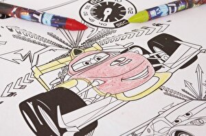 Cars - Masa pentru colorat