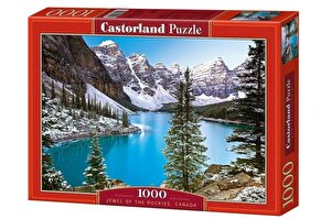 Puzzle The Jewel of the Rockies - Canada, 1000 piese