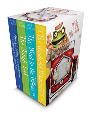 Mini Classics Boxed Set: Alice's Adventures in Wonderland & Through the Looking-Glass, The Jungle Book, The Wonderful Wizard of Oz and The Wind in the Willows