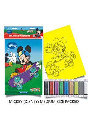 Plansa pictura nisip M, Mickey cu skate