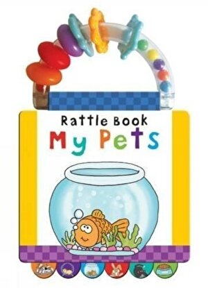 Pets: Early Learning (Handle Rattle Book)