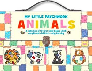 Small Book Carrycase Set - First Animals Patchwork