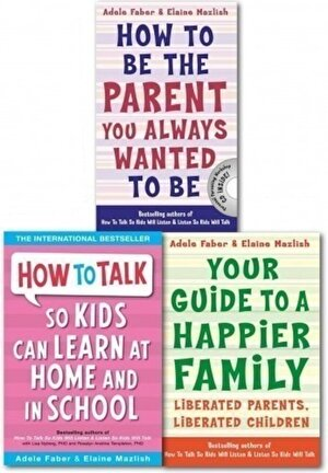 How to Talk to Teens, Series 2: Happier Family & Parenting Guide X 3 Books Collection Set (Child Discipline books)