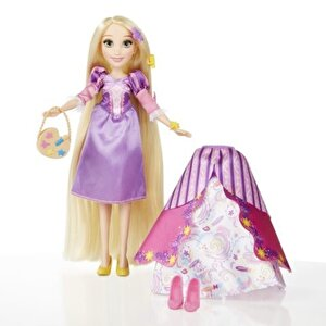 Disney Princess - Papusa Rapunzel, cu rochita fashion