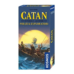Catan - extensie Pirati & Exploratori 5/6 jucatori