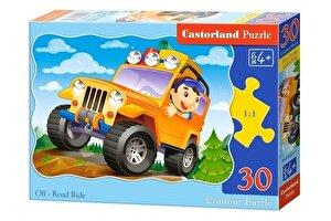 Puzzle Masinuta Off-Road, 30 piese