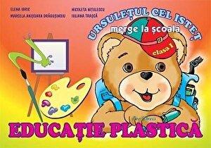 Ursuletul cel istet merge la scoala - Educatie plastica clasa I