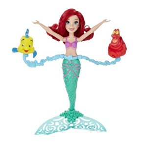 Disney Princess - Papusa Ariel se invarte si inoata