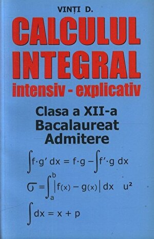 Calcul integral intensiv - explicativ