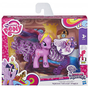 My Little Pony - Explore Equestria, Figurina ponei cu aripi - Princess Twilight Sparkle