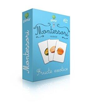 Vocabular. Fructe exotice/ CJEd. Montessori. Seria 2