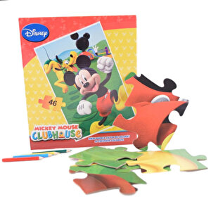 Puzzle maxi Mickey, 46 piese