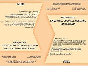 Matematica - Bacalaureat la sectiile speciale germane din Romania
