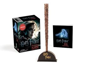 Harry Potter Hermione's Wand with Sticker Kit: Lights Up!, Paperback