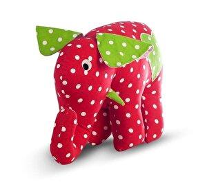 U-Grow, Jucarie Elefant rosu, 42 cm
