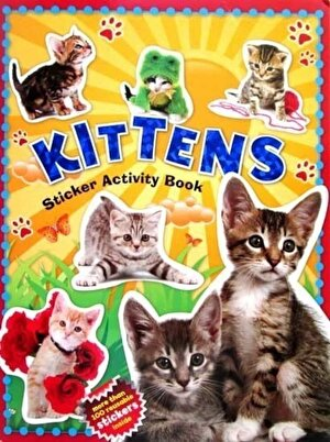 Sticker Books - 100 Stickers - Kittens