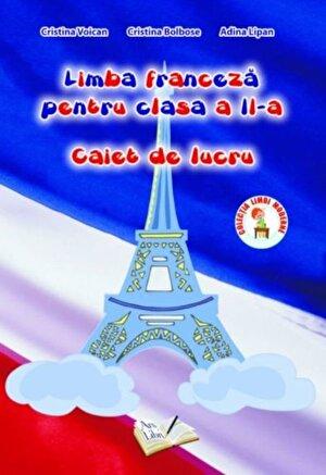 Limba franceza pentru clasa a II-a, caiet de lucru