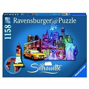 Puzzle contur - Orizont New York, 1158 piese