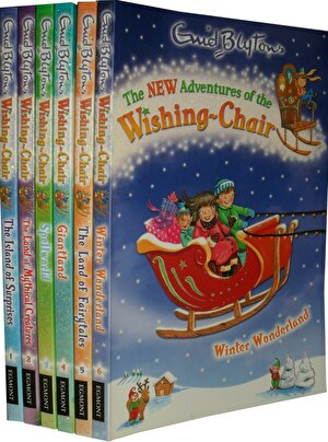 Enid Blyton Books Adventures of the Wishing Chair 6 Books Collection Set