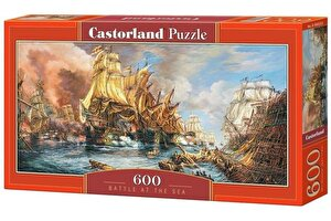Puzzle panoramic Lupte navale, 600 piese